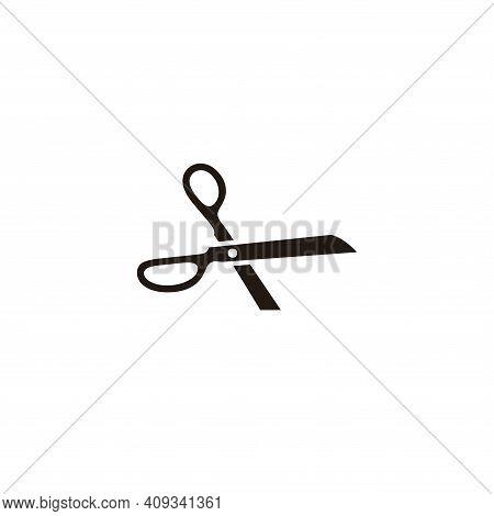Scissors Icon Vector. Scissors Icon Isolate Don White Background. Scissors Icon Simple And Modern.