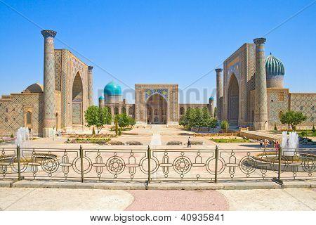 alten muslimischen architektonischen Komplex registan