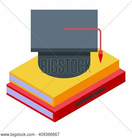 Bachelor Degree Icon. Isometric Of Bachelor Degree Vector Icon For Web Design Isolated On White Back