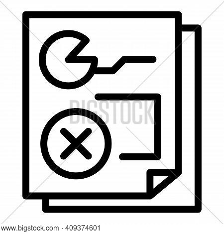 Template Redesign Icon. Outline Template Redesign Vector Icon For Web Design Isolated On White Backg