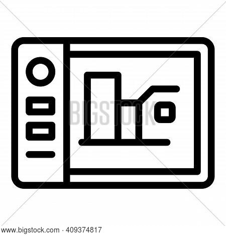 Website Redesign Icon. Outline Website Redesign Vector Icon For Web Design Isolated On White Backgro