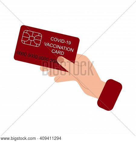 Vaccination Card During Covid-19 To Travel Without Problem.
