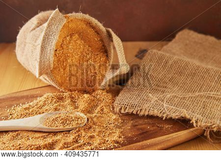 Teff, A Gluten-free Alternative To Ancient Grains, Is A Popular Choice For A Healthy Diet. Burlap An