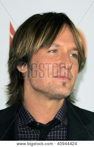 LOS ANGELES - JAN 12:  Keith Urban arrives at the 2013 G'Day USA Los Angeles Black Tie Gala at JW Marriott on January 12, 2013 in Los Angeles, CA..