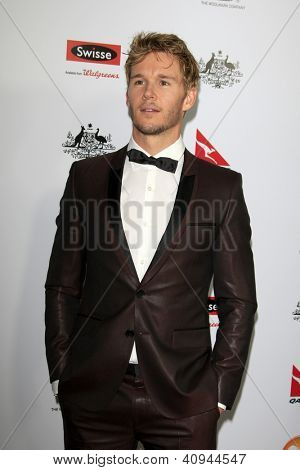 LOS ANGELES - JAN 12:  Ryan Kwanten arrives at the 2013 G'Day USA Los Angeles Black Tie Gala at JW Marriott on January 12, 2013 in Los Angeles, CA..