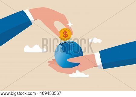 International Economy, Global Investment, Financial Opportunity Around The World, Developed Market A