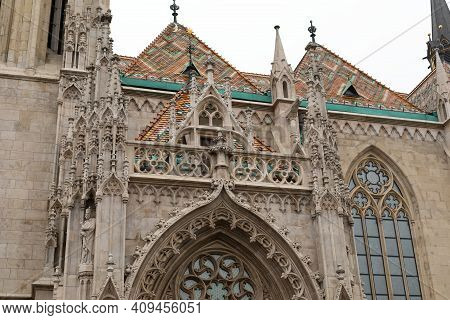 Picture Of The Famous Matthias Church Situated In Budapest Hungary