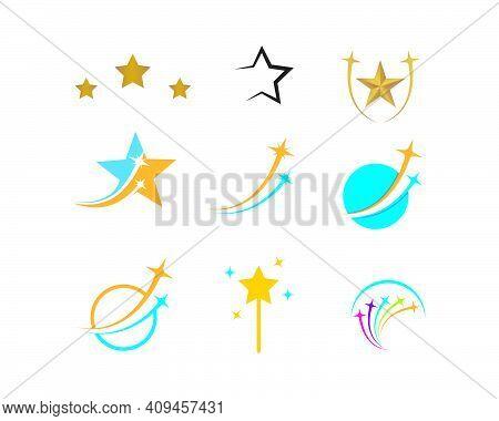 Star Logo Template Vector Icon Illustration