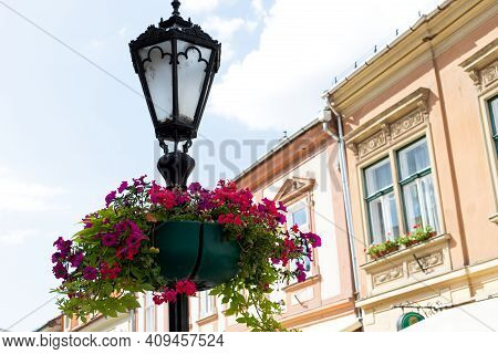 Picture Of An  Energy Saving Street Lighting
