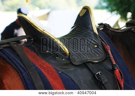 1860s Military Saddle
