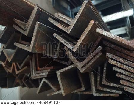 Metal Square Profile. Geometric Profile. Profiled Tubular Steel Products.