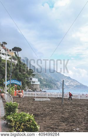Amalfi, Italy - June 29, 2014: View Of The