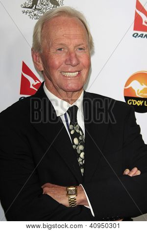 LOS ANGELES - JAN 12: Paul Hogan at the 2013 G'Day USA Los Angeles Black Tie Gala at JW Marriott on January 12, 2013 in Los Angeles, California