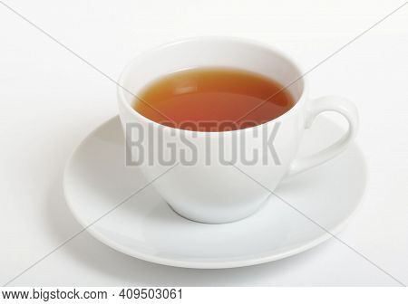 Masala Tea (masala Chai), Hot Tea Cup. Traditional Indian Hot Drink With Milk And Spices.