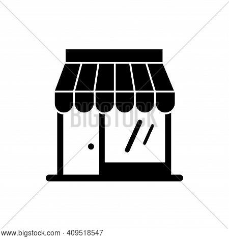 Shop Icon Vector. Shop Icon Isolated On White Background. Shop Icon Simple And Modern.