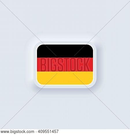 Flag Of Germany. National Germany Flag. German Flag. Germany Symbol. Vector Illustration. Eps10. Sim