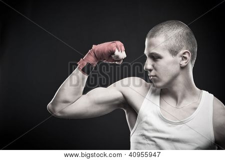 Strong Young Man