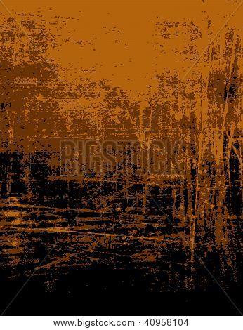 Brown, Orange Grunge