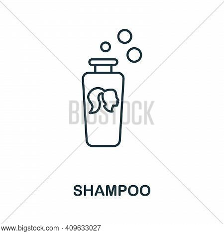 Shampoo Icon. Simple Element From Personal Hygiene Collection. Creative Shampoo Icon For Web Design,