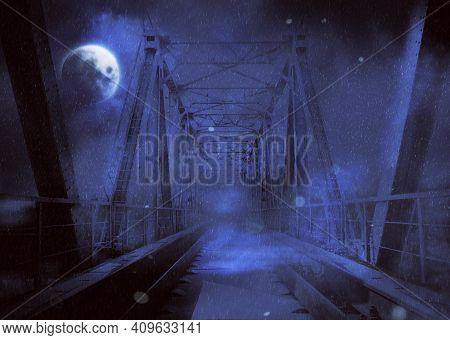 Mystic Railroad Bridge