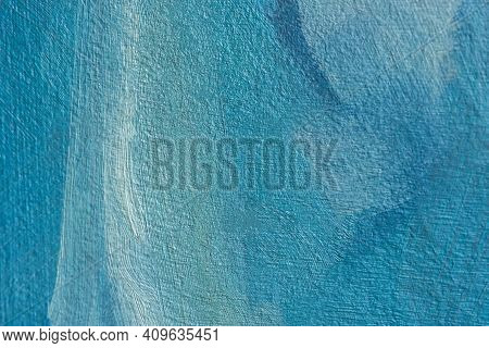 Abstract Multicolored Background With Oil Paint On Canvas. Abstract Art Background. Creative Backgro