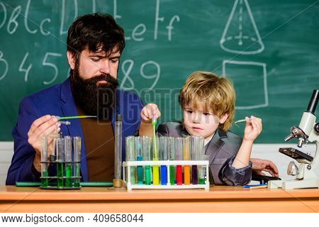 Chemical Experiment. Achieving Developmental Milestones Way Before Predicted Sign That Child Ready T