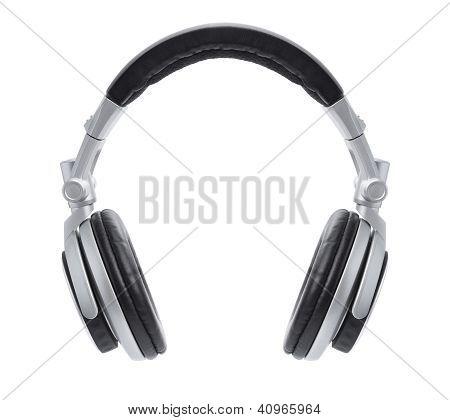 Stylish Silver Dj Headphones