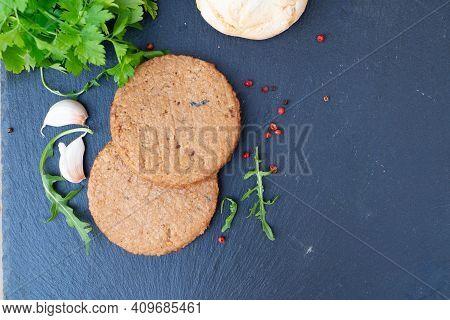 Vegeterian Steak, Meat Substitute Analogue, Healthy Vegan Food