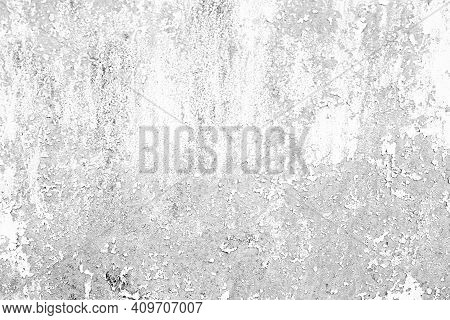 White Background And Black And Gray Scratches. For Your Design.