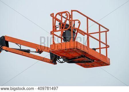 Elevator Crane Hydraulic Work Lift Metal Up