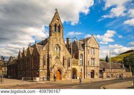 July 6, 2018: Queens Gallery Is An Art Gallery In Edinburgh, Scotland Opened In 2002 By Queen Elizab