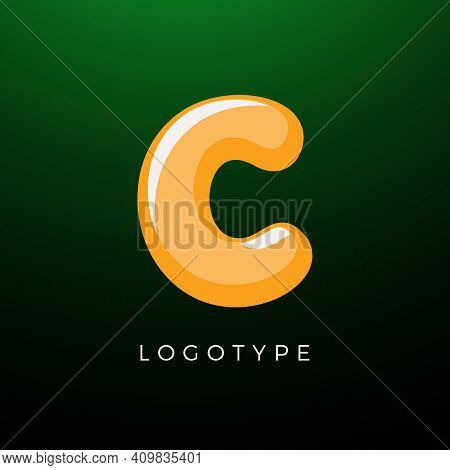 3d Playful Letter C, Kids And Joy Style Symbol For School, Preschool, Comic Book, Kids Zone Decorati