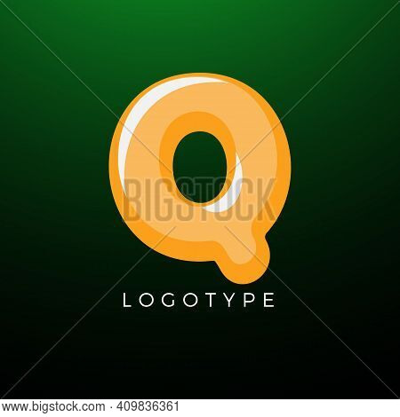 3d Playful Letter Q, Kids And Joy Style Symbol For School, Preschool, Comic Book, Kids Zone Decorati