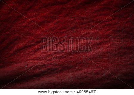 red sailcloth