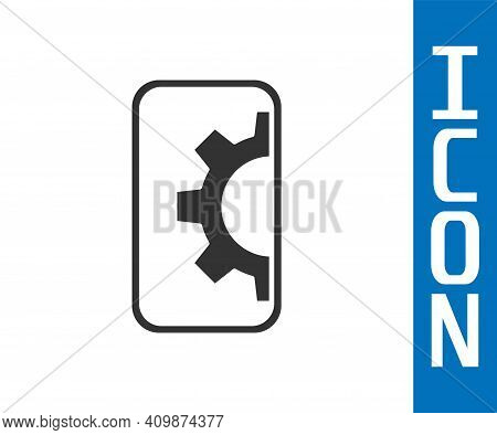 Grey Software, Web Development, Programming Concept Icon Isolated On White Background. Programming L