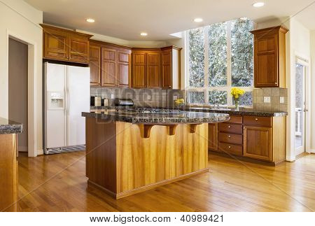 Large Daylight Kitchen