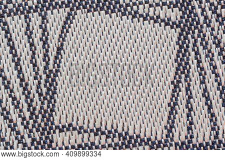 Close-up Fabric Texture, Plaid Material, Textile Print Close-up. Modern Background, Banner Design