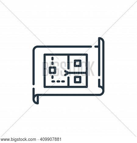wire icon isolated on white background from electrician tools and elements collection. wire icon thi
