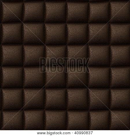 Brown Leather Seamless Background Or Texture