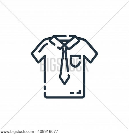 shirt icon isolated on white background from startup collection. shirt icon thin line outline linear