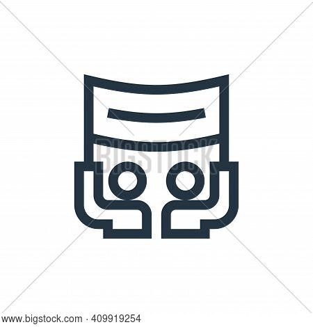 protest icon isolated on white background from news collection. protest icon thin line outline linea