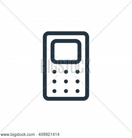 phone icon isolated on white background from electronics collection. phone icon thin line outline li