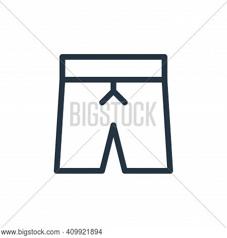 pants icon isolated on white background from holiday collection. pants icon thin line outline linear