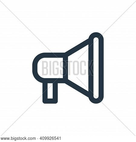 marketing icon isolated on white background from user interface collection. marketing icon thin line