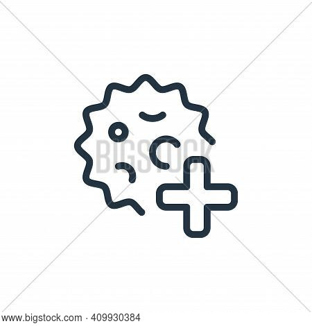 health care icon isolated on white background from coronavirus collection. health care icon thin lin