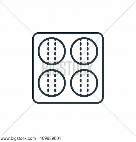 bowls icon isolated on white background from retirement collection. bowls icon thin line outline lin