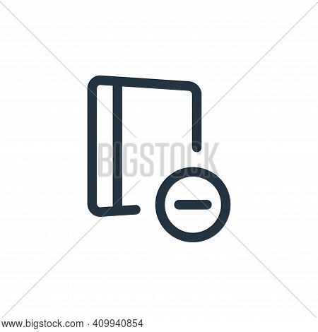 archive icon isolated on white background from file and archive collection. archive icon thin line o