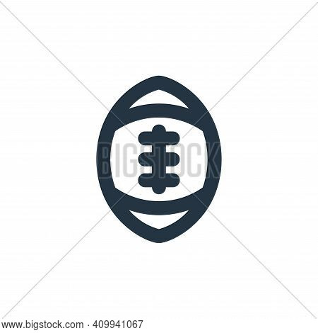 american football icon isolated on white background from sport collection. american football icon th