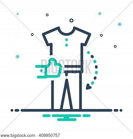 Mix Icon For Combination Amalgamation Amalgam Mixture Accessories Apparel Garment Clothe Design-elem