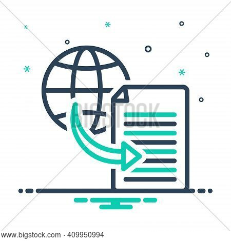 Mix Icon For Transfer Shifting Transference Displacement Transferal Share Connection Copy Share File